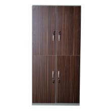 کمد 4 درب فلزی با درب چوبی (MDF)
